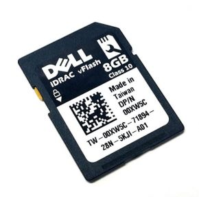 8GB Dell iDRAC6 vFlash Class 10 SD Card 00XW5C
