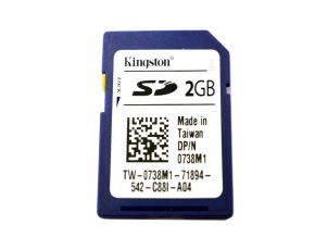 SD Card 2GB Kingston Dell 0738M1 voor Dell PowerEdge servers