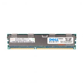 4GB 2Rx4 PC3-10600R DDR3-1333 ECC, Hynix / Dell HMT151R7BFR4C-H9