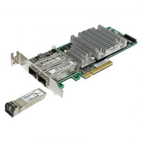 HP NC522SFP 2-port 10GB SFP+ Low Profile Server Adapter