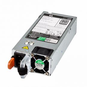 HTRH4, 0HTRH4, Dell, 750W, 80-Plus, Platinum, Power, Supply, D750E-S6, DPS-750AB-15 B, PSU, voeding, R630, R730, R530, T430, Poweredge,