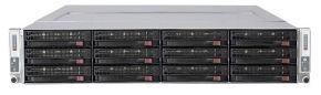 SuperMicro SuperServer 6026TT-HDTRF, CSE-827HD, CSE-827HD-R1400B, X8DTT-HF+