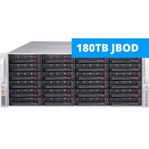 SuperMicro SC847-JBOD 180TB Expansion unit