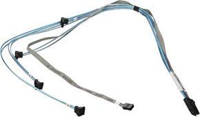 SuperMicro SFF-8087 to 4x SATA Harddrive cable CBL-0097L-02