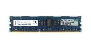 647651-081, 8GB 1Rx4 PC3-12800R DDR3-1600 ECC, Hynix / HP HMT41GR7AFR4C-PB