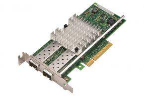 Dell Intel X520 2-port 10GB SFP+ Low Profile NIC P/N: 942V6, 0942V6