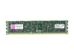 4GB 2Rx4 PC3-8500R DDR3-1066 ECC, Kingston KVR1066D3D4R7S/4G