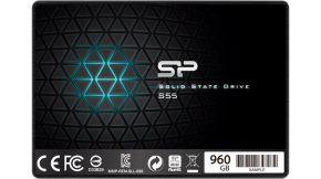 Silicon Power S55 Slim 960GB TLC SSD NEW SP960GBSS3S55S25