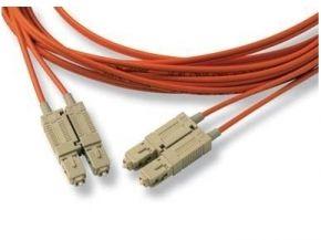 SCSC50DOR10, Duplex, Fibre, Optic, Cable, 50/125, SC-SC, 10m,