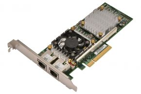 Dell Broadcom 57810S 2-port 10GB Full Profile NIC P/N: 57810S, W1GCR, 0W1GCR