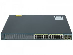 Cisco Catalyst WS-C2960-24PC-S PoE Switch