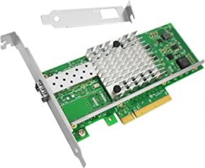 Intel X520-DA1 single-port 10GB SFP+ CNA P/N: E10G41BTDAG1P5, X520-DA1