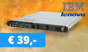 IBM X3250M4 Promotie